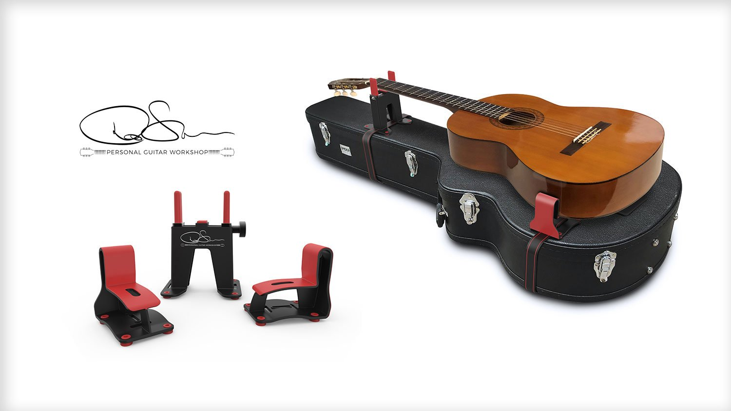 IPS-Designed Portable Guitar Workshop Showcased at the NAMM Show