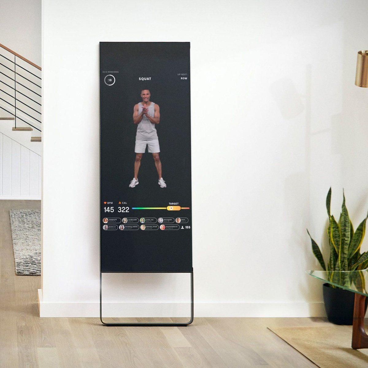Mirror Interactive Home Gym