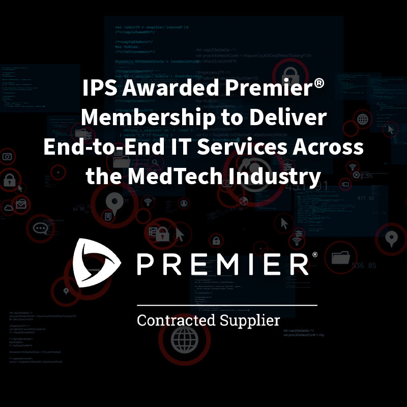 Intelligent Product Solutions Awarded Group Purchasing Agreement with Premier as a Supplier for Software Development Services