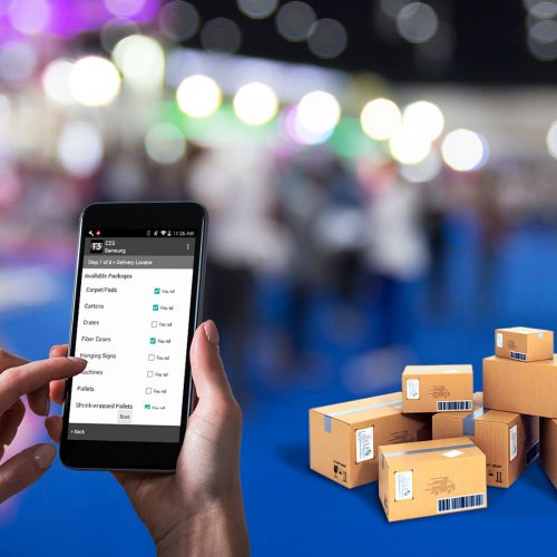 Trade Show Package Tracking Software | Centralized Logisitics Tracker