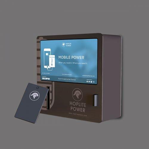 Hoplite Power Mobile Charger Kiosk
